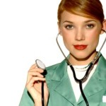 beautiful-female-doctor-using-stethoscope